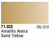 Farba Vallejo Model Air 71028 Sand Yellow 17ml