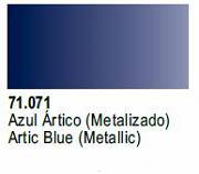 Farba Vallejo Model Air 71071 Metallic Arctic Blue 17ml