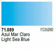 Farba Vallejo Model Air 71089 Light Sea Blue 17ml