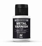 Farba Vallejo Metal Colors 657 Gloss Metal Varnish