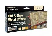Farby Vallejo Zestaw 71187 Old and New Wood Effects