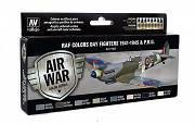 Farby Vallejo Zestaw 71162 RAF Colors Day Fighters 1941-1945 & P.R.U