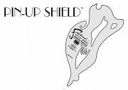 "Schablone ""Pin Up Shield"""