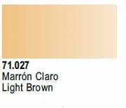 Farba Vallejo Model Air 71027 Light Brown 17ml