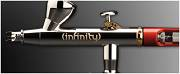 Airbrush INFINITY CR + 2in1 0,15+0,4mm nozzle