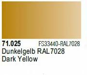 Farba Vallejo Model Air 71025 Dark Yellow 17ml