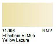 Farba Valejo Model Air 71106 Yellow Lazure 17ml