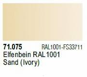 Farba Vallejo Model Air 71075 Sand (Ivory) 17ml