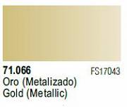 Farba Vallejo Model Air 71066 Metallic Gold 17ml