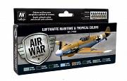 Farby Vallejo Zestaw 71164 Luftwaffe Maritime and Tropical colors