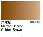 Farba Vallejo Model Air 71032 Golden Brown 17ml