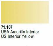 Farba Vallejo Model Air 71107 US Interior Yellow 17ml