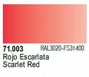 Farba Vallejo Model Air 71003 Scarlet Red 17ml