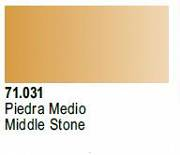 Farba Vallejo Model Air 71031 Middle Stone 17ml