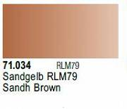 Farba Vallejo Model Air 71034 Sand Brown 17ml